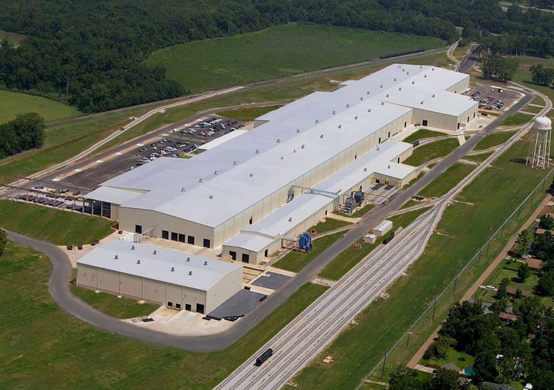 ルイジアナ州アレクサンドリア工場