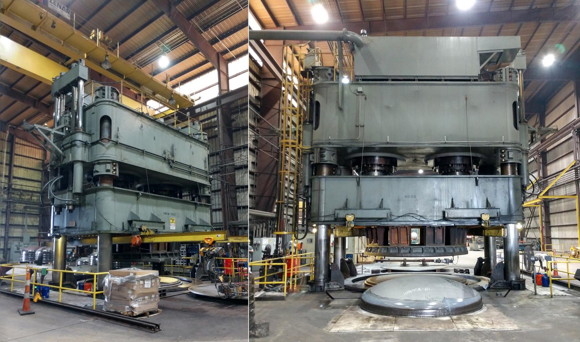 新工場に移設された「Hokkai Head Press」
