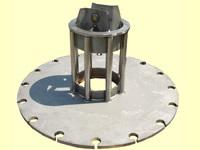 鋼線熱処理用ステム